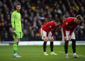 Gara-gara Blunder De Gea, Watford Tambah Penderitaan Manchester United