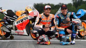 Alex Marquez Dan Marc Marquez Menjadi Pembalap Moto GP Repsol Honda