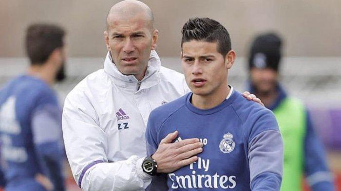 James Rodriguez Ingin Hengkang dari Real Madrid Menuju Inggris