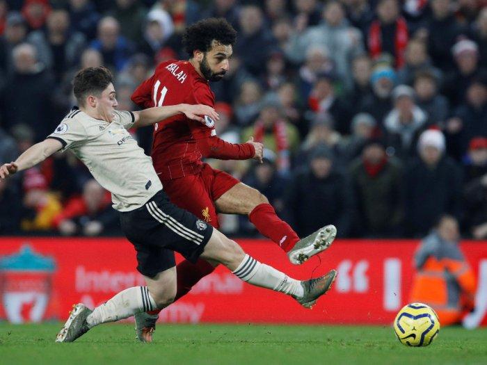 Liverpool Mengalahkan Manchester United 2-0 Dengan Gol Dari Virgil van Dijk Dan Mohammed Salah