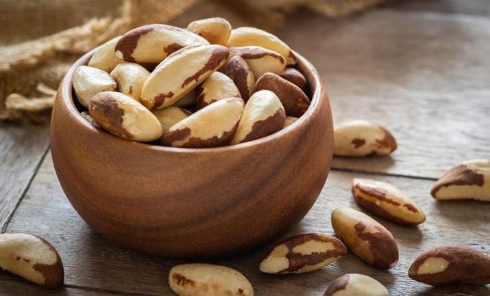 Beberapa manfaat dari kacang brazil untuk kesehatan