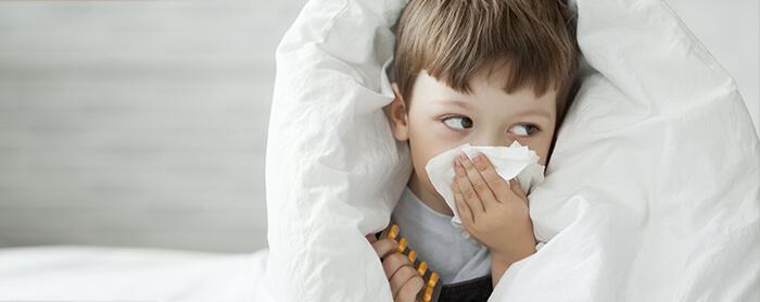 Beberapa tips untuk atasi pilek pada anak ketika cuaca tidak menentu