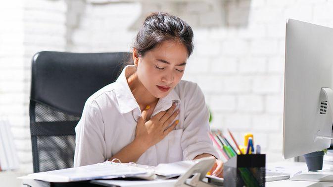 Beberapa gejala penyakit jantung pada wanita